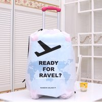 Wholesale Luggage suitcase cover storage bag case Thickening waterproof protective dust cover Portable Travel Accessorie Kit Light Non Woven Fabrics