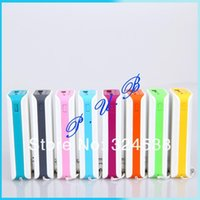 Wholesale 2013 fashion color polychrome mAh power bank with LED lights for iphone mobile phone
