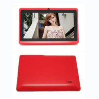Wholesale Promotion Gift Inch Quad Core GB GB Tablets pc wifi Bluetooth Dual Camera Dual core Tablet pc