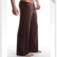 animal breath - Brand design men s home pants sleep wear pants yoga pants color comfortable and breath free