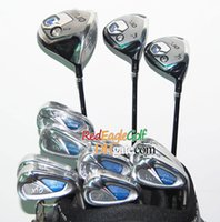 golf club set - New Golf clubs XX10 MP800 Golf driver fairway Wood Golf Irons with bag Complete set Clubs golf Graphite shaft Headcover Freeshipping