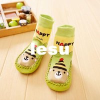 animal baby slippers - Fashion Hot Baby Boy Girl Socks Anti Slip Newborn Animal Cartoon Shoes Slippers Boots