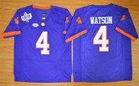 Wholesale Clemson Tigers DeShaun Watson Diamond Quest College Football Jersey Men s High quality jersey Size S XXL