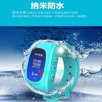 Wholesale Children watch students double talk positioning GPS positioning anti lost anti lost positioning table base station location