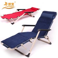 Wholesale Afternoon recreation treasure strengthening bilateral tube folding couch folding bed single bed office lunch nap cot bed
