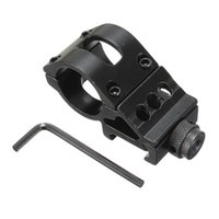 Wholesale 25mm Ring Rail Mount Tactical Scope Sight Flashlight Torch Laser Mounts Allen Key For Hunting