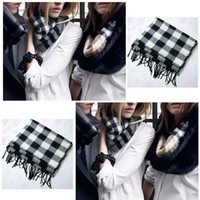 best mens scarves - The Best Price For Plaid Womens Mens Wool Blend Wrap Winter Warm Fleece Scarf Shawl Scarve