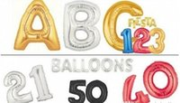 aluminium news - Good News Gold Silver Alphabet Helium Aluminum Foil Balloon Letters Wedding Christmas Birthday Baby Shower Party Decoration Supplies