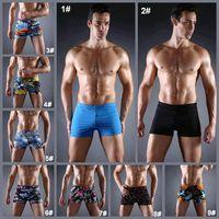 Wholesale Men Swimwear Men Shorts Trunks Boxers Board Beach Surf Doodle Graffiti Boxer Swimming Size Swim New Mens Swimsuit in Colors SC