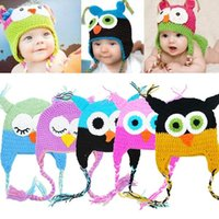 beautiful baby wool hat - 16 Styles Beautiful Toddler Baby Girls Boys Owls Animal Crochet Knit Woolly Cap Ear Hat months