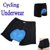 Wholesale 2013 New arrival Men Bicycle Cycling Underwear Gel D Padded Bike short Pants Black Hot size M L XL XXL XXXL