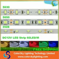 led tape light - 2015 High Birght M Led Strips Light Warm White Green RGB Flexible M Roll Leds V led strip tape