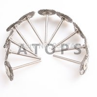 anvil wholesale - 10PCS Steel Wire Wheel Brushes Dremel Accessories For Rotary Tools order lt no track