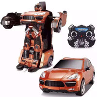 best transformer toys - Newest Transformer Toys Versions Car Robot Transform Children Best Surprice Gift Wireless GHz controller Robot with retail box