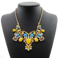 batch pc - 2014 new mixed batch of colorful fashion big long jewelry sweater chain necklace