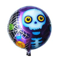 balloon halloween costumes - Stylish High quality Halloween Skull Decorative Foil Balloons Costume Parties for men