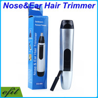 Wholesale Nose Ear Hair Facial Trimmer J Steel Knife Shaver Scissors Multifunction Trimmers Personal Electric Clippers Remover Epilator