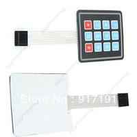 Wholesale x3 Key Matrix Membrane Super Slim Switch Keypad Keyboard General Use order lt no track