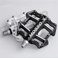 alloy profile - New Arrival Road Bike Pedals Low Profile Black Platform Pedals Alloy Mountain Bike Parts on Discount