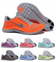 trainer shoes - 2015 New Free Run V4 Women Running Shoes Lady Athletic Trainers Weightlight Sport Shoes Eur