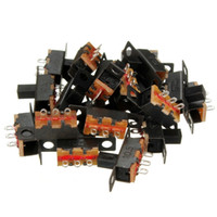 Wholesale The Best Quality pin position Black Mini Size SPDT Slide Switches On Off PCB V A DIY Material New Hot Sale