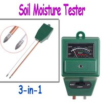 Wholesale Garden Soil Moisture Tester Light Luxmeter PH Meter in Freeshipping dropshipping