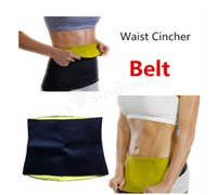Waist Cinchers belts direct - Hot Shapers Body Weight Loss Waist Cincher Neoprene Slimming Waist Belts Training Corsets Bodysuit Women Free DHL Factory Direct