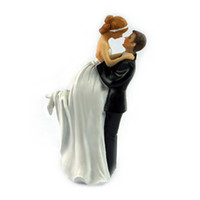 Wholesale Wedding Cake Toppers Bride and Groom Romance Couple Figurine Cake Toppers Wedding Favors JM0017 salebags