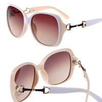 acrylic outdoor glasses - High Quality Female fashion big frame Sunglasses New Arrival Outdoor UV400 Protective Women Sun glasses gafas de sol