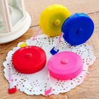 Wholesale High Quality M mini portable tape measure keychain Sewing Tailor Retractable Ruler