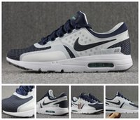 zero - Nike Air Max Zero Before The One White Mid Navy RFTBL HYPR JD QS Women Running Shoes Brand New Airmax Maxes Max Size