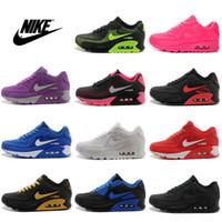 Wholesale Nike Air Max KPU TPU Men Women New Running Shoes Men s Women s Jogging Shoes Discount Max90 Sport Shoes Size