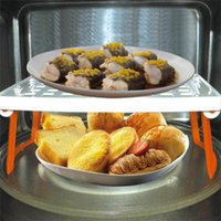 Wholesale Household multifunction Storage Rack Dish clout Storage Racks kitchen Stands Utensils Microwave Oven Shelf