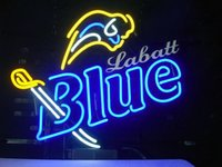 beer neon light - NEW LabattS Blue REAL GLASS TUBE NEON SIGN BAR LIGHT CUSTOMER STORE BEER PUB SIGNS quot