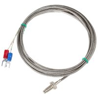 Wholesale 2M K Type Celsius mm Thread Screw Thermocouple Temperature Measurement Sensor INS_119