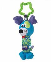 dog stroller - Kids Baby Soft Toy Animal Handbells Rattles Bed Stroller Bells Developmental Toy Blue dog