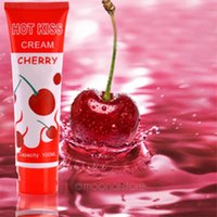 Wholesale Cherry flavour Oral lubricant sex lubricant ML silk touch grease sex oil vaginal lubrication adult lube sex products XYP0125
