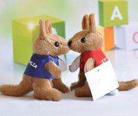 australian souvenirs - High quality plush toys Australian kangaroo doll fashion lovely souvenirs