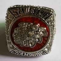 Wholesale 2013 Chicago Blackhawks world series championship ring replica with velvet ring box and free express shipping