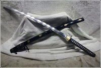 Wholesale Japanese Ninja Sect Shrine Samurai Sword Katana Pattern Steel Sharp Battle Ready