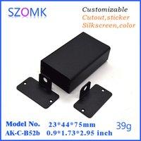 audio amplifier projects - szomk powder coating wall mount enclosure mm aluminum project enclosure audio amplifier aluminum case