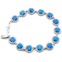 Wholesale opal jewelry with cz stone fashion opal bracelet Mexican fire opal bracelet The latest fashions OB074H