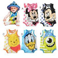 baby onesie pattern - Cute Baby boys and girls Bodysuit Minnie Winnie ANIMAL Pattern One Piece Onesie