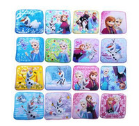 baby things sale - Hot Sale Children s Baby Accessories Cartoon Face Towel Child Thing Elsa Princess Olaf cm cm Childs Things Blue Washcloth