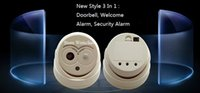 Wholesale New Owl Style Infrared In Wellcome Alarm Arrival Door Bell