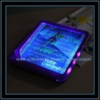 Wholesale New arrival fluorescence message board led flashing WordPad led writing display board freeshipping order lt no track