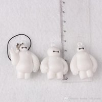 Wholesale Super Pak Marines white pvc keychain pendant ornaments key factory direct white