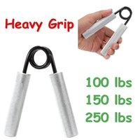 Wholesale 100 Lbs Heavy Duty Sport Grip Hand Grippers Build Forearm Muscle Strength Train order lt no track