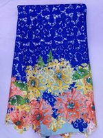 swiss voile lace - african swiss voile lace high quality guipure cord lace fabric in royal blue color yards