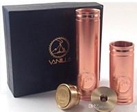 Cheap 2015 hot selling Vanilla copper mech mod mechanical mod clone e cig vaporizer pen ecig VS stingray stainless nemesis 26650 panzer DHL free